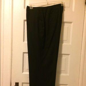 Women's pinstripe pants — size 18w
